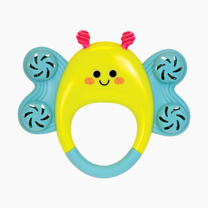Manhattan Toy Co Butterfly Tambourine