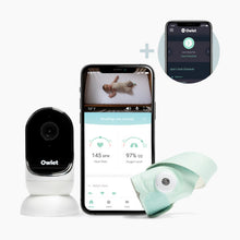 Load image into Gallery viewer, Owlet Owlet Baby Monitor Dream Set: Smart Sock 3, Cam and Dream Lab