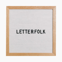 Load image into Gallery viewer, Letterfolk Poet Letterboard