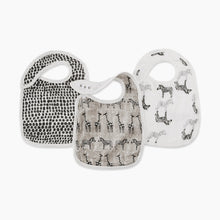 Load image into Gallery viewer, Aden + Anais Silky Soft Snap Bib (3 Pack)