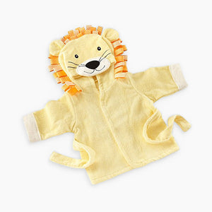 "Baby Aspen Baby Aspen ""Big Top Bath Time"" Lion Robe"