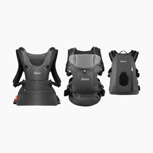 Diono Carus Complete 4-In-1 Carrier with Backpack