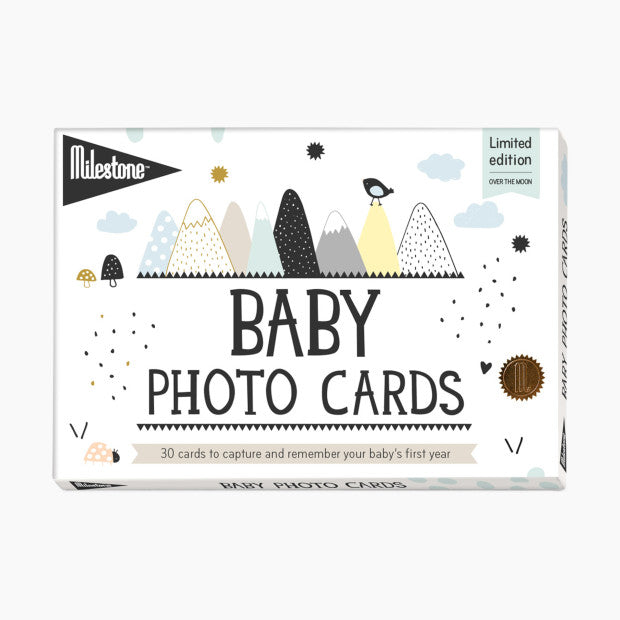 Milestone Baby's First Year Over the Moon Photo Cards
