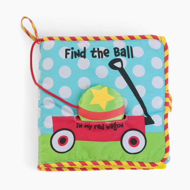 Manhattan Toy Co Find the Ball Soft Book