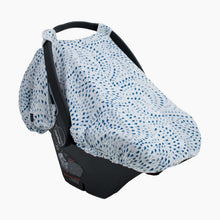 Load image into Gallery viewer, Bebe au Lait Muslin Car Seat Cover