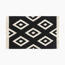Load image into Gallery viewer, Lorena Canals Black & White Washable Rug