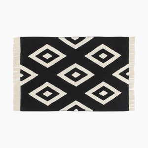 Lorena Canals Black & White Washable Rug