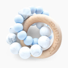 Load image into Gallery viewer, Loulou Lollipop Trinity Silicone & Wood Teether
