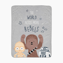 Load image into Gallery viewer, Lambs & Ivy Star Wars Rebels Baby Blanket