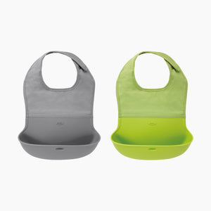 OXO Tot Roll Up Bib (2 Pack)