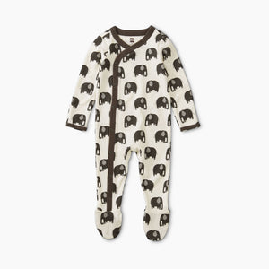 Tea Collection Snap Front Footie Pajamas