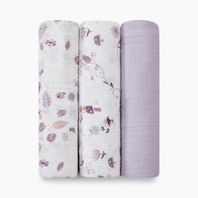 Load image into Gallery viewer, Aden + Anais Organic Muslin Swaddles (3 Pack)