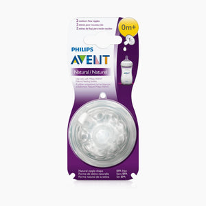 Philips Avent Natural Nipples (2 Pack)