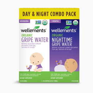 Wellements Organic Gripe Water Day/ Night Combo Pack