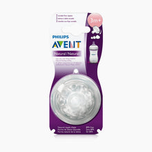 Load image into Gallery viewer, Philips Avent Natural Nipples (2 Pack)