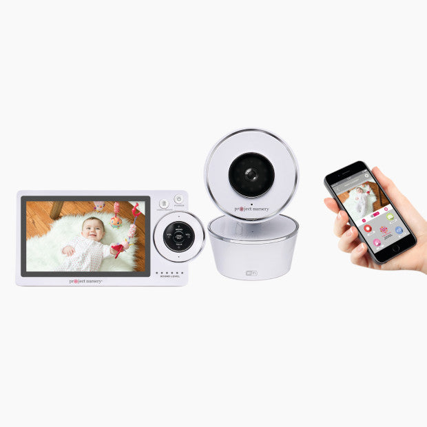 Project Nursery HD Dual Connect Baby Monitor System