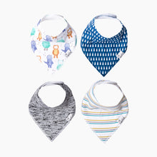 Load image into Gallery viewer, Copper Pearl Bandana Bib (4 Pack)