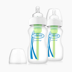 Dr. Brown's Wide Neck Glass Bottles (2 Pack)
