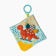 Load image into Gallery viewer, Mary Meyer Pebblesaurus Crinkle Teether