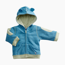 Load image into Gallery viewer, Babysoy Organic Cotton Teddy Fleece Hoodie