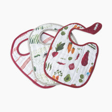 Load image into Gallery viewer, Little Unicorn Cotton Muslin Classic Bib (3 Pack)