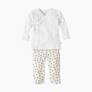 Burt's Bees Baby Organic Kimono Top and Footless Pant