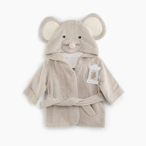 "Baby Aspen Baby Aspen ""Squeaky Clean"" Mouse Robe"