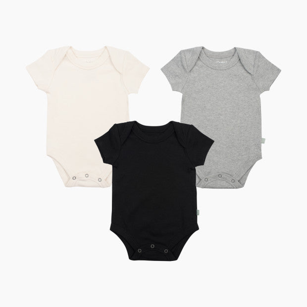 Finn + Emma Organic Cotton Lap Bodysuit (3 Pack)
