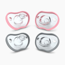 Load image into Gallery viewer, Nanobebe Flexy Pacifier (4 Pack)