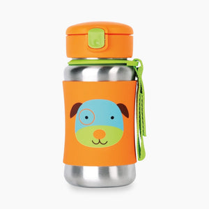 Skip Hop Baby Zoo Stainless Steel Straw Bottle