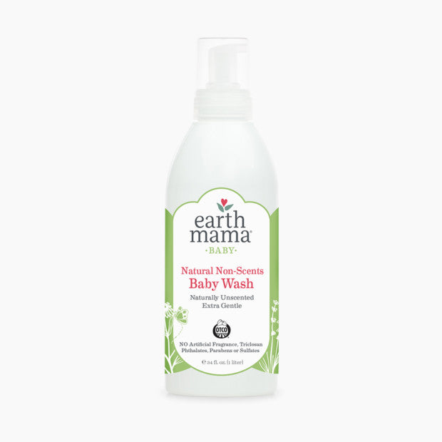 Earth Mama Natural Non Scents Baby Wash