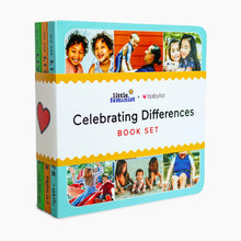 Load image into Gallery viewer, Little Feminist Celebrating Differences Book Set