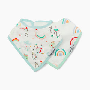 Loulou Lollipop Bandana Bib Set (2 Pack)