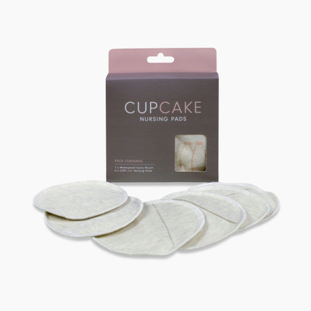Cake Maternity Cupcake Reusable Nursing Pads (3 Pair)