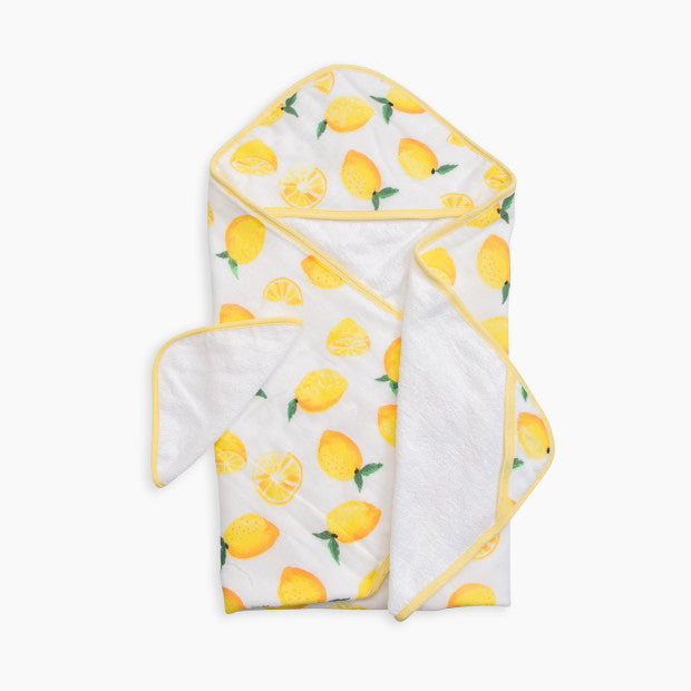 Little Unicorn Cotton Muslin Hooded Towel & Washcloth Set