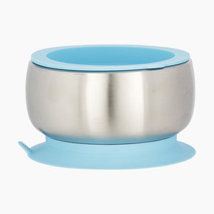 Avanchy Stainless Steel  Suction Bowl + Lid