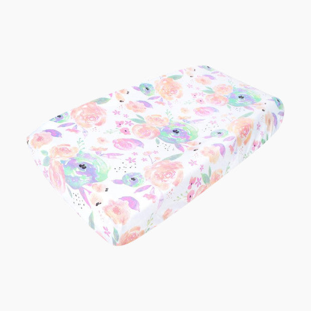 Copper Pearl Cotton Changing Pad Cover