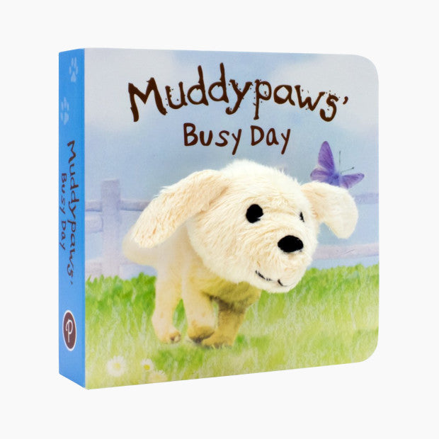 Muddypaws' Busy Day Finger Puppet Book