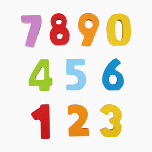 Hape Wooden Numbers and Colors
