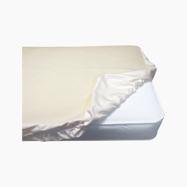 Naturepedic Organic Waterproof Fitted Crib Pad