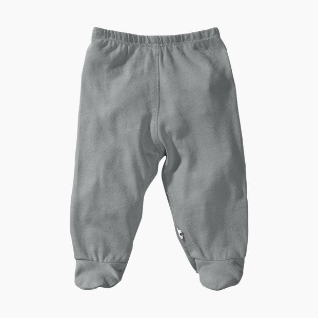 Babysoy Organic Cotton Solid Footie Pants