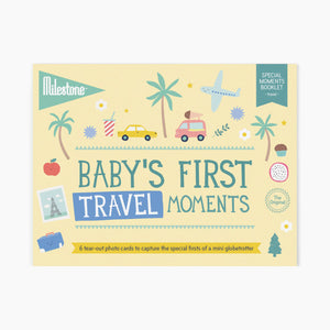 Milestone Baby's First Travel Photo Card Booklet