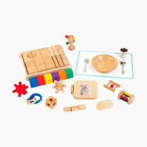 Monti Kids Level 2 Montessori Educational Toy Kit