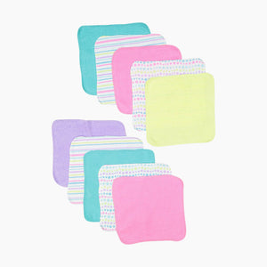 Spasilk Soft Terry Washcloth (10 Pack)