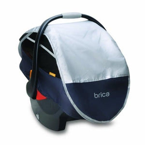 Brica Infant Comfort Canopy Car Seat Cover