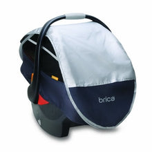 Load image into Gallery viewer, Brica Infant Comfort Canopy Car Seat Cover