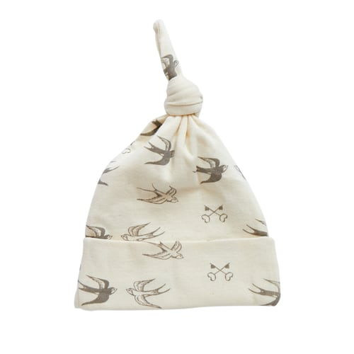 Nature's Basics Newborn Hat - Birds
