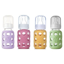 Load image into Gallery viewer, Lifefactory Lifefactory Glass Baby Bottles 4 Pack - 4 oz