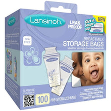 Load image into Gallery viewer, Lansinoh Breastmilk Storage Bags