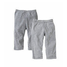 Load image into Gallery viewer, Snuggle Basics Pants 2-Pack - Gray